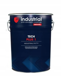 INDUSTRIAL NOVOL szpachlówka Tech Plus 1+utw. 9kg